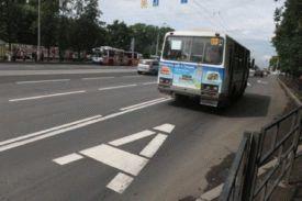 Какой предусмотрен штраф по езде по линии автобусов