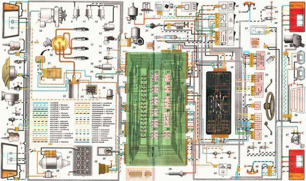 sxemaprovodkivaz21099karbyuratorsevropan 8D6AEA9E - Схема электрики ваз 21099 карбюратор